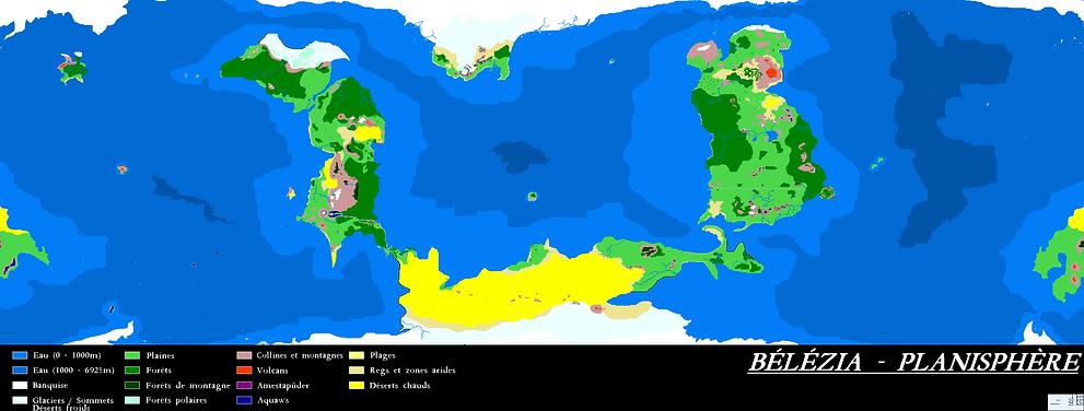 Carte de Bélézia