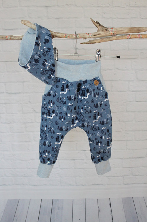 Baggy-Pant Hose Set Gr.80