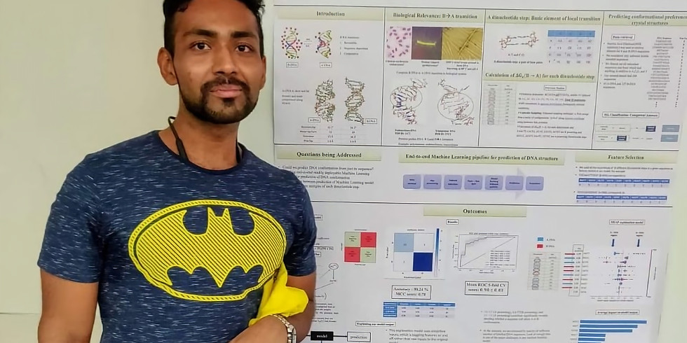 Abhijit won best poster award  Merck symposium 2019  (1)