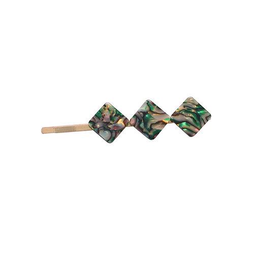 Green Marble Pin