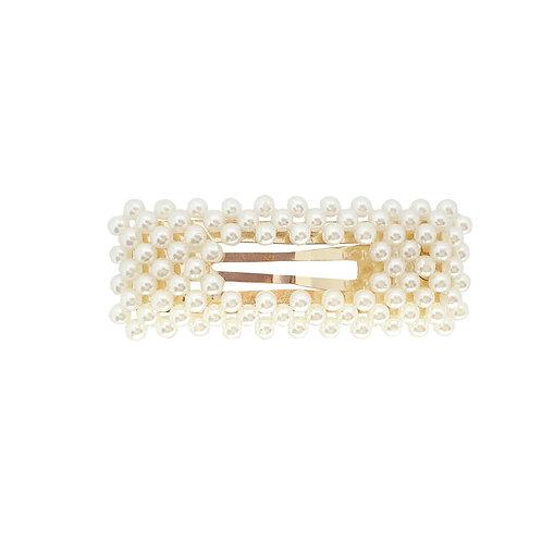 Pearl Rectangle Hair Clip