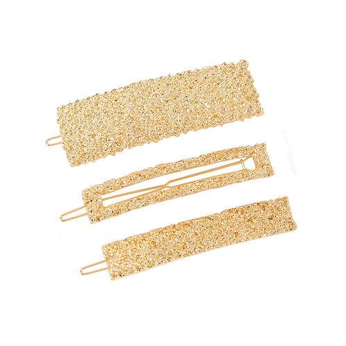Golden Hairpin Set