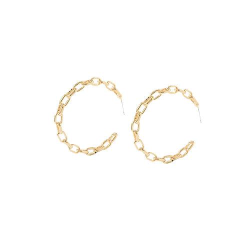 Chainhoop Earrings