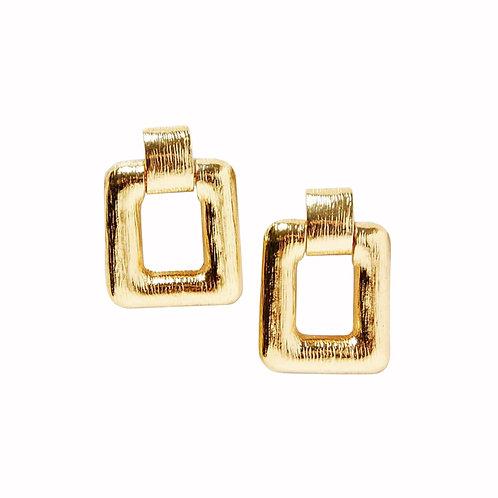 Bold Square Earrings