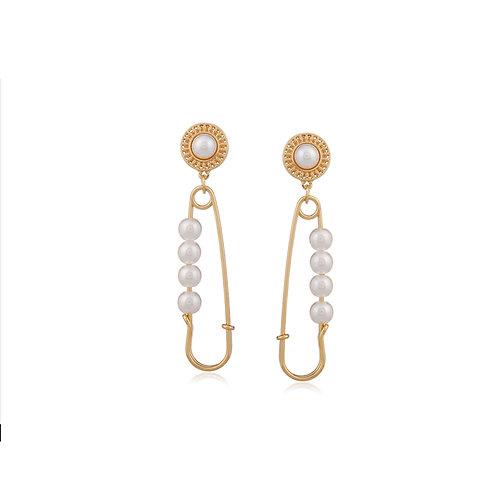 Pearl Pin Earrings