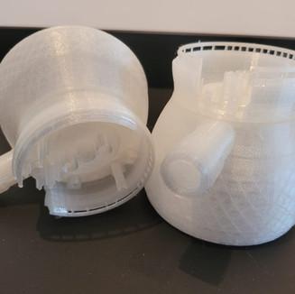 Impressão 3D de Protótipo – Projeto mockup de engenharia