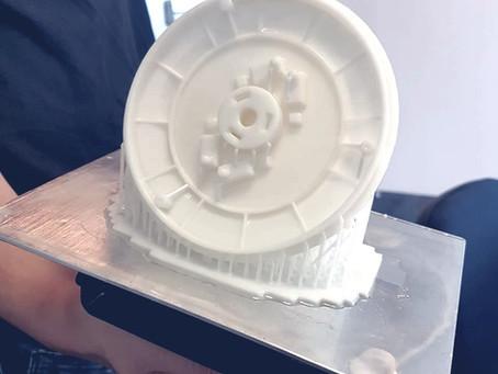 Impressão 3D de peça de reposição – Projeto engrenagem