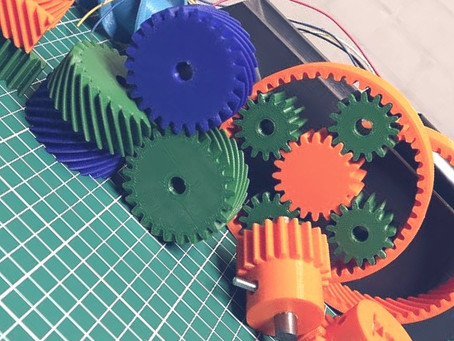 Impressão 3D de engrenagem – Guia, dicas e técnicas