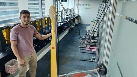Maior Impressora 3D fabricado no Brasil