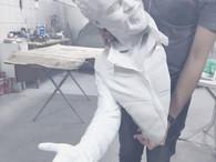 Impressão 3D de estatua – Projeto estatua interativa