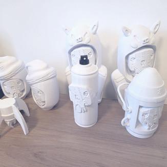 Impressão 3D de artes – Projeto objetos conceituais