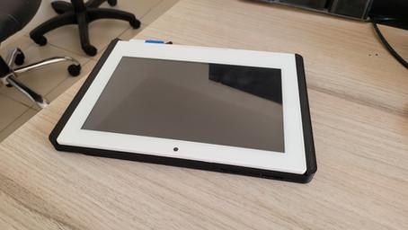 Impressão 3D de protótipo – Projeto tablet de pagamento