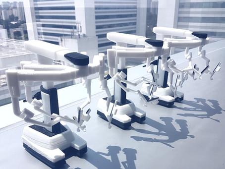 Impressão 3D de Miniatura - Projeto miniatura de equipamento cirúgico