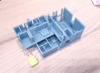 Impressão 3D de maquetes para arquitetura – projeto modelo estrutural dinâmico