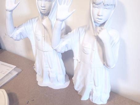Impressão 3D de estatuas – Projeto menino de pijama
