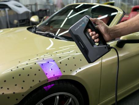 Digitalização 3D e Engenharia Reversa na industria brasileira (Escaneamento 3D)