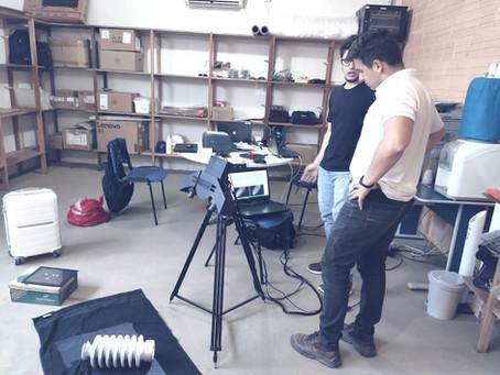 Scanner 3D - Projeto digitalização 3D de peças de reposição AES Tietê