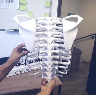 Impressão 3D na educação – Projeto esqueleto