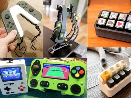 Impressão 3D de consoles, PC, videogames e acessórios