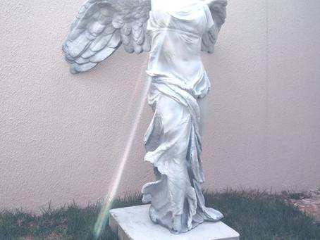 Impressão 3D de estátua - Vitória de Samotrácia