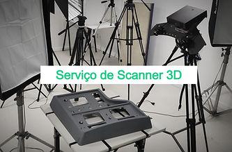 Serviço de scanner 3D