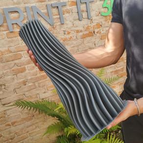 Impressão 3d de decorações – Projeto vaso