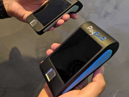 Impressão 3D de Mockup - Projeto Maquininha de cartão