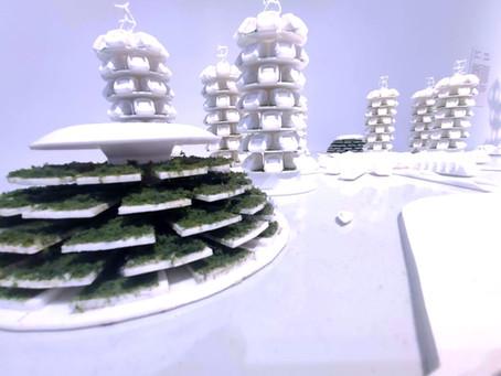 Impressão 3D de maquetes para arquitetura e construção civil