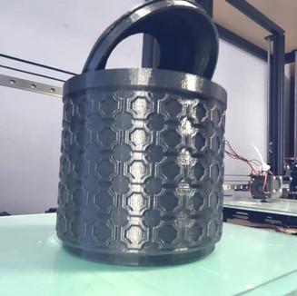 Impressão 3D de decorações – Projeto balde
