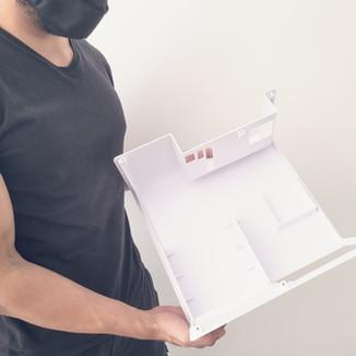 Impressão 3D de Gabinete - Projeto máquina