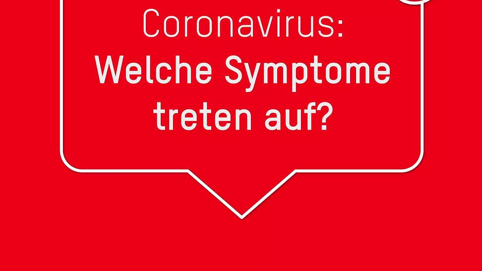 Welche Symptome treten auf?
