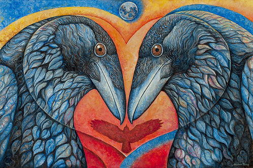 """Love Birds"" by Nathan Perry"