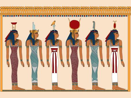 Six Goddesses of Ancient Egypt