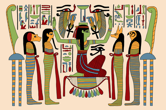 Nephthys and the Sons of Horus