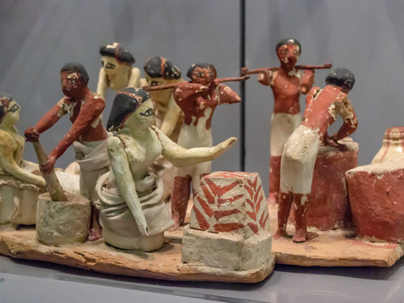 Funerary Model of a Brewing and Baking Workshop, c. 2010 BC