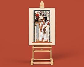 DP01B - The Goddess Hathor and Seti Scene.jpg