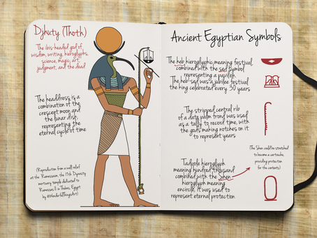 Ancient Egyptian Symbols: Measuring Time