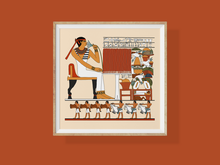 The Funerary Offering Table of Watetkhethor, a 6th Dynasty Egpytian Princess