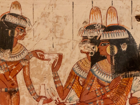 Paintings from the Tomb-chapel of Nebamun, British Museum