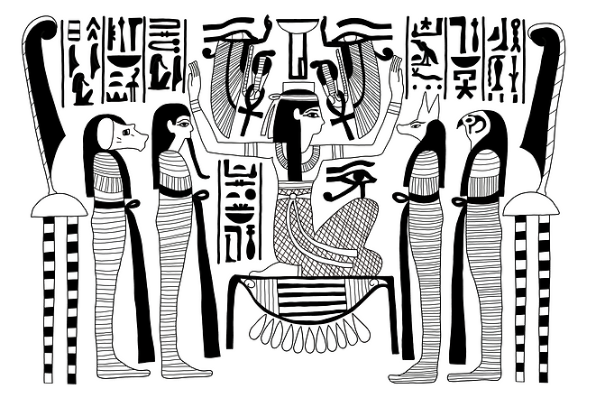 DP03.01 - Nephthys and the Sons of Horus