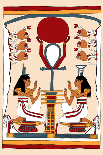 Isis and Nephthys