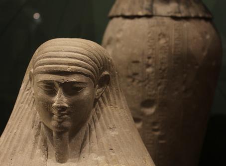 30th Dynasty Canopic Jars