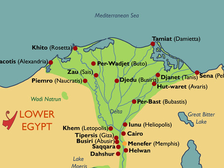 What did the Ancient Egyptians Call Memphis? Mapping Ancient Egyptian Town Names