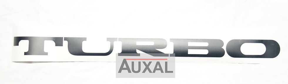 Sticker / adhesif TURBO lunette AR. Renault 5 Alpine Turbo