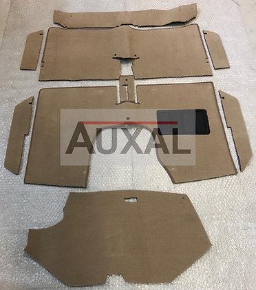 Kit tapis sol - moquette Renault 5 - R5 Alpine - Alpine Turbo - TX