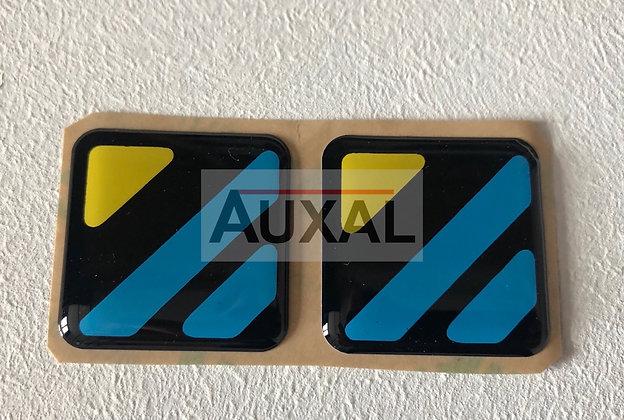Sticker - autocollant montant porte DIAC Renault Clio  16S - Bpillar door