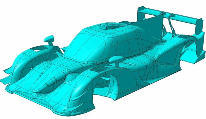 etude concept - CFD - conception carrosserie composites