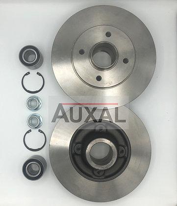 Disque - disques de frein R5 Super 5 GT Turbo - rear brake discs disc