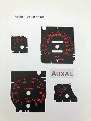 Fonds de compteurs - Renault R21 2L Turbo