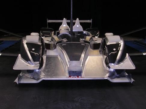 Maquette soufflerie LMP1